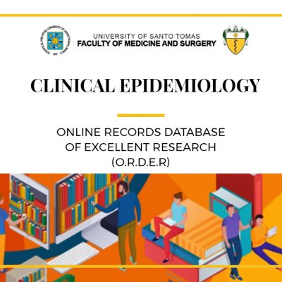 UST FMS Establishes the Online Records Database of Excellent Research (O.R.D.E.R)
