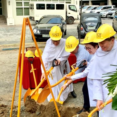 UST Medicine Breaks Ground for New Building